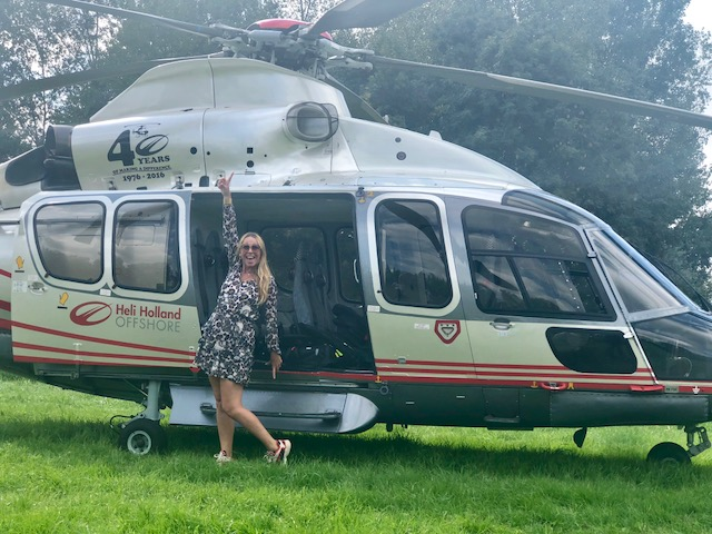 YEAHHH HOE COOL! Helikoptervlucht met de lancering van de nieuwe Mitsubishi Outlander PHEV MY19