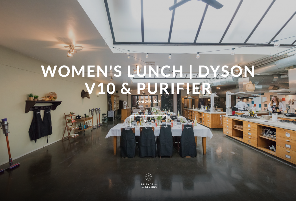 Women's lunch De Dyson V10 & Purifier